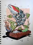 Sushi fishy by Scraper28