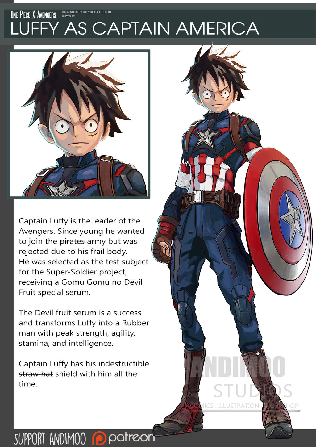 Luffy Captain Of