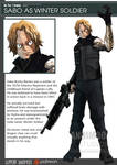 One Piece Avenger Sabo the Winter Soldier