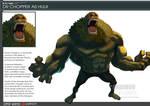 One Piece Avenger Dr Chopper as Hulk