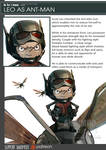 One Piece Avengers Leo as Ant-Man