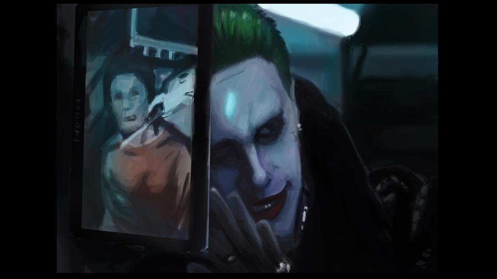 Jared Leto Joker Speed Painting by AndiMoo
