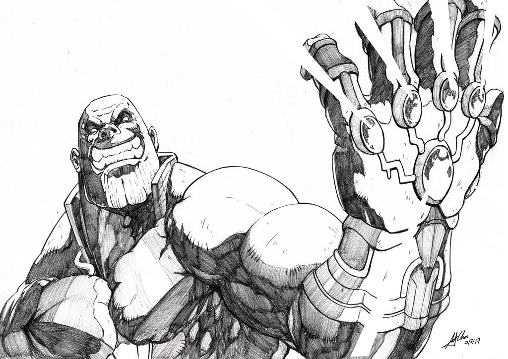 Thanos by AndiMoo