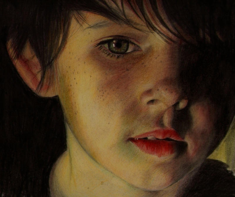 Nicholas WIP by Briscott