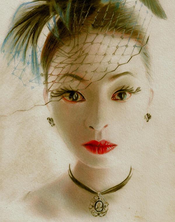 Victorian Geisha by Briscott