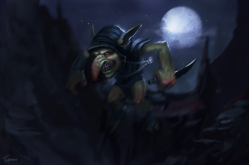 Goblin assasin by typhonart d5skpvr