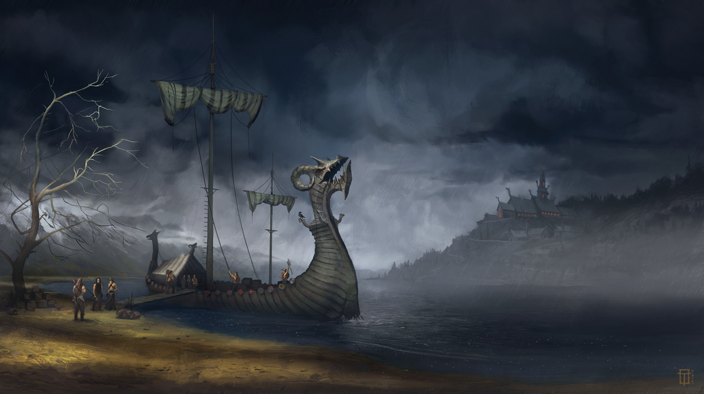 Vikings and the adventure! by TyphonArt