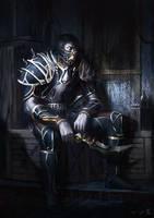 Rogue in Valorous Bonescythe Battlegear