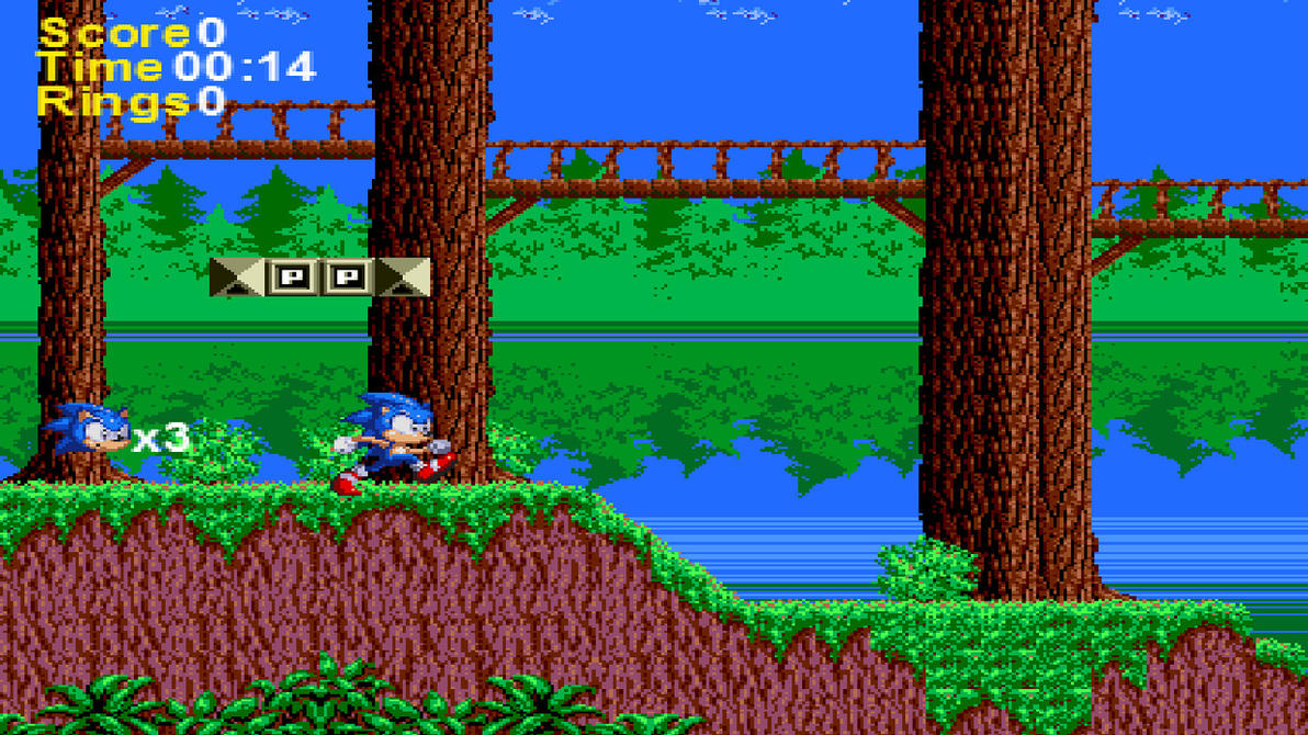 Sonic Satam Fan Game Peview 1 By Classicsonicsatam On