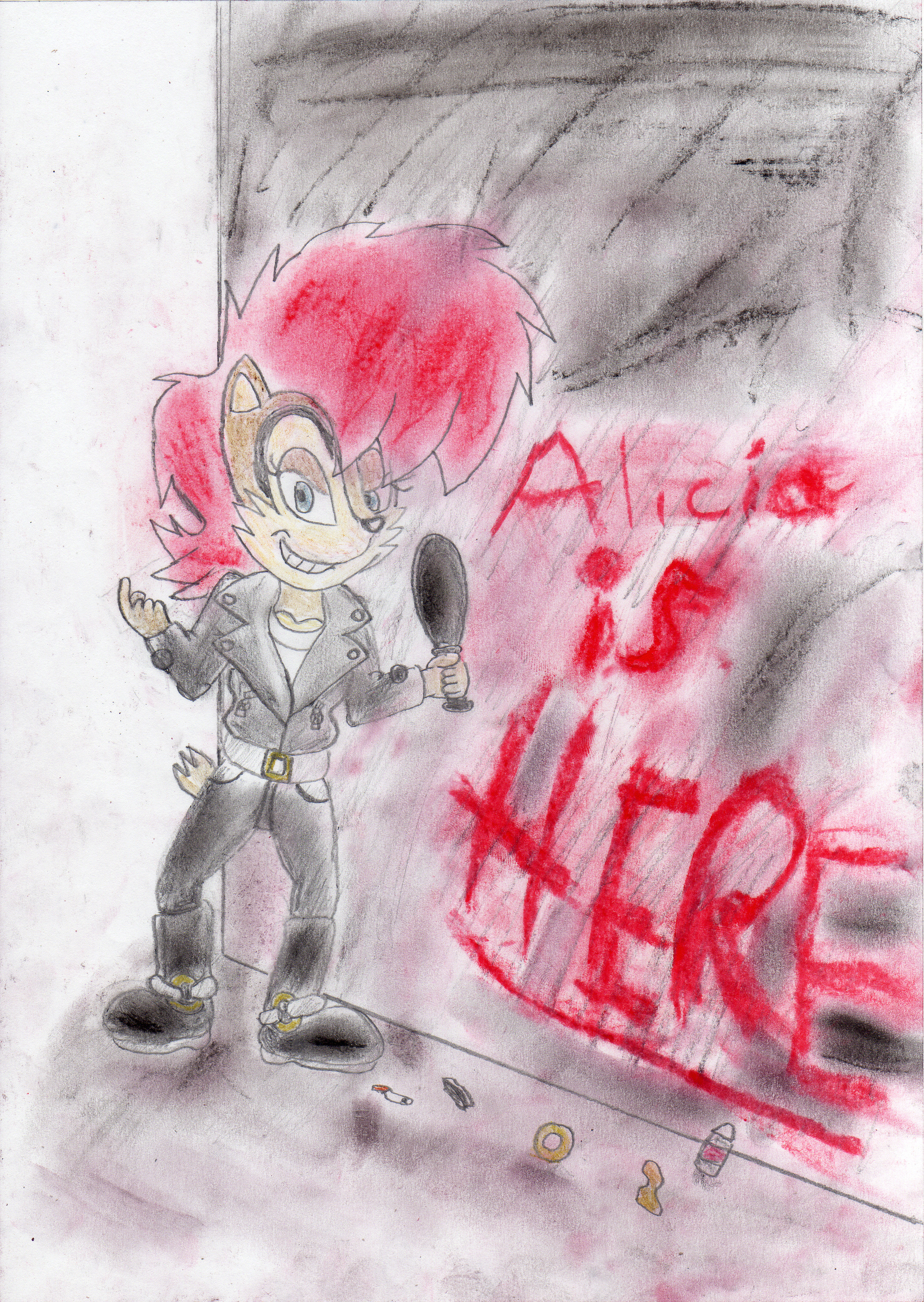 Evil Sally/Alicia: Looking For Trouble? by ClassicSonicSatAm