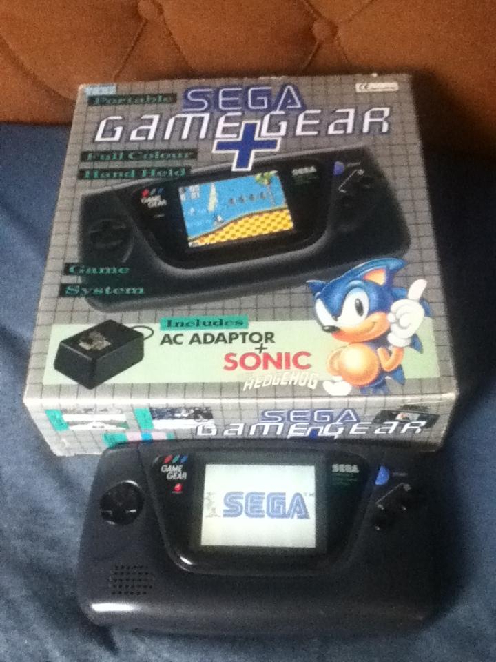 Sega Game Gear Sonic The Hedgehog By Classicsonicsatam On Deviantart