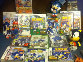 My Modern Sonic Games Collection. by ClassicSonicSatAm