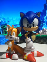 Sonic and Tails by ClassicSonicSatAm