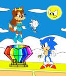 Art Trade: Sonic Meets Sparkles