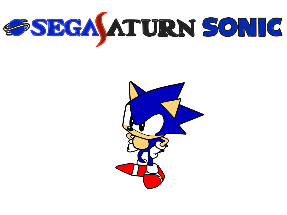 SEGA Saturn Sonic by ClassicSonicSatAm on DeviantArt