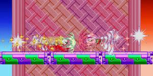Super Sonic VS Hyper Knuckles: Blast 16-bit