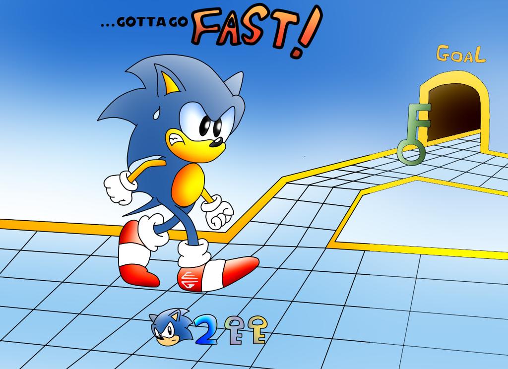 Sonic Labyrinth: Gotta Go Fast by ClassicSonicSatAm