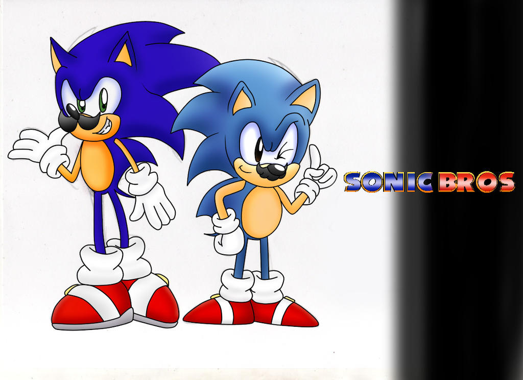 Sonic Bros by ClassicSonicSatAm