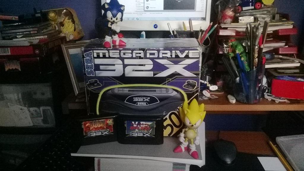 SEGA MEGA DRIVE 32X by ClassicSonicSatAm