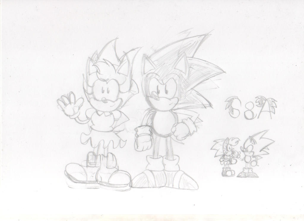Sonic And Amy Project by ClassicSonicSatAm