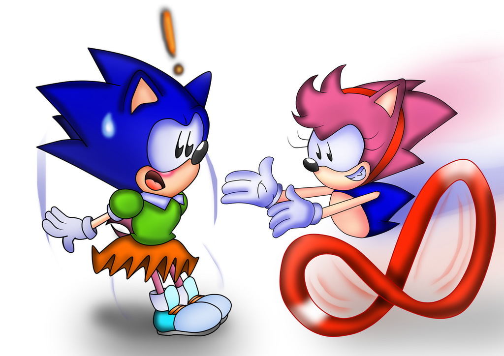 Sonic And Amy Swap By ClassicSonicSatAm On DeviantArt