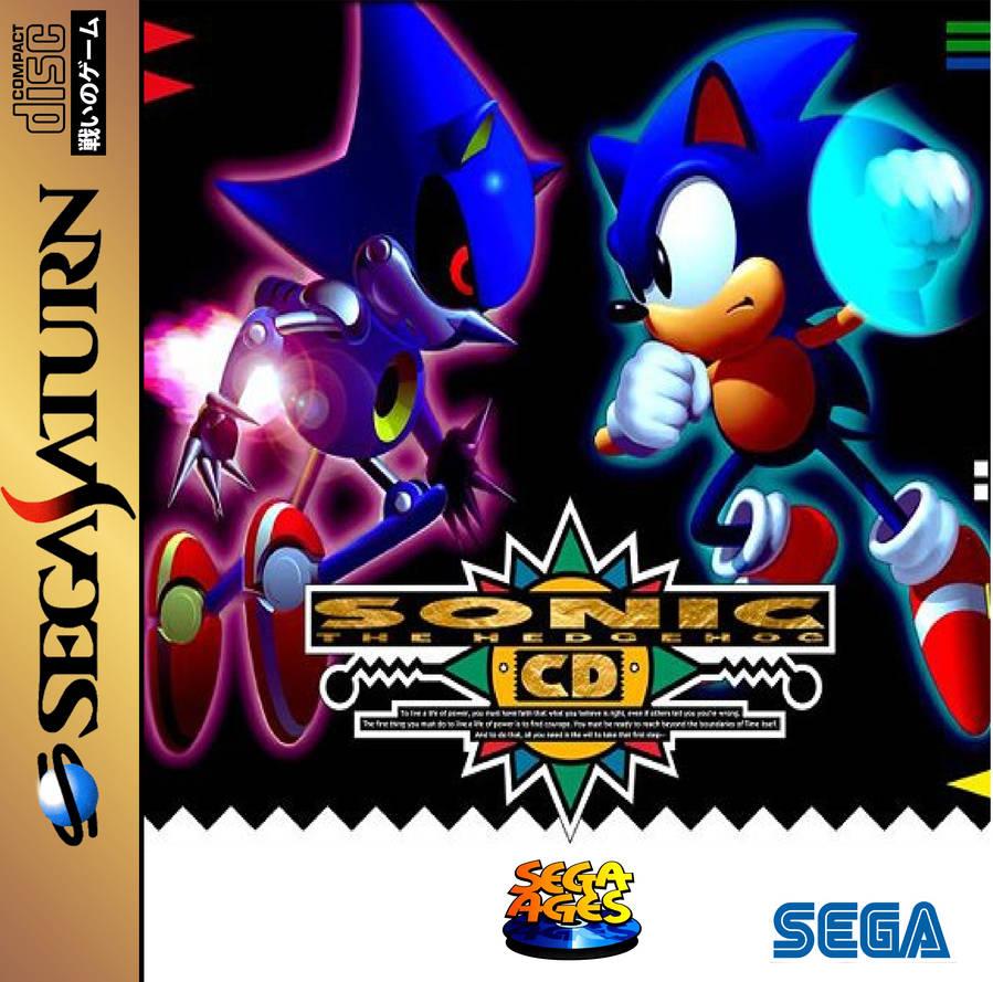 Sonic CD for SEGA Saturn by ClassicSonicSatAm on DeviantArt