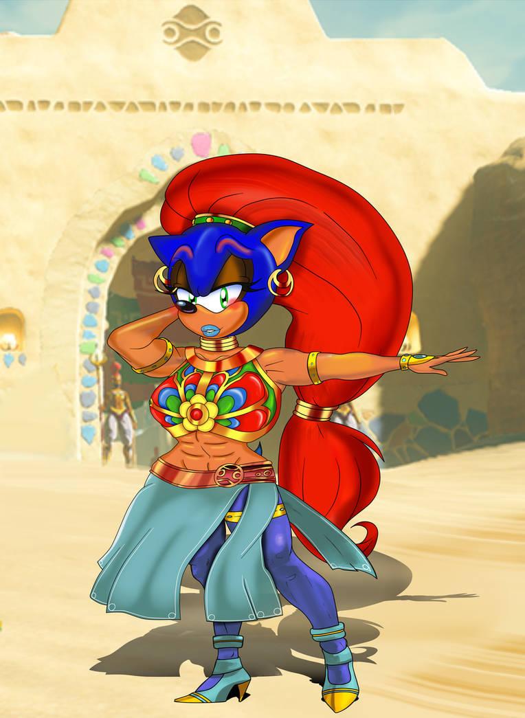 Gerudo Sonic Preview by ClassicSonicSatAm