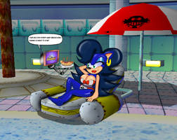 Sonic to Breezie Sonic Part 2 Preview Beach Hog