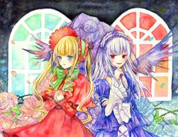Shinku and Suiginto by aloespica109