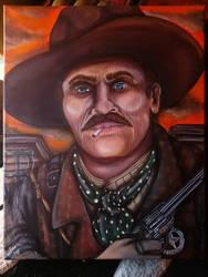 Wyatt Earp, Tombstone Marshall  by depicting-history