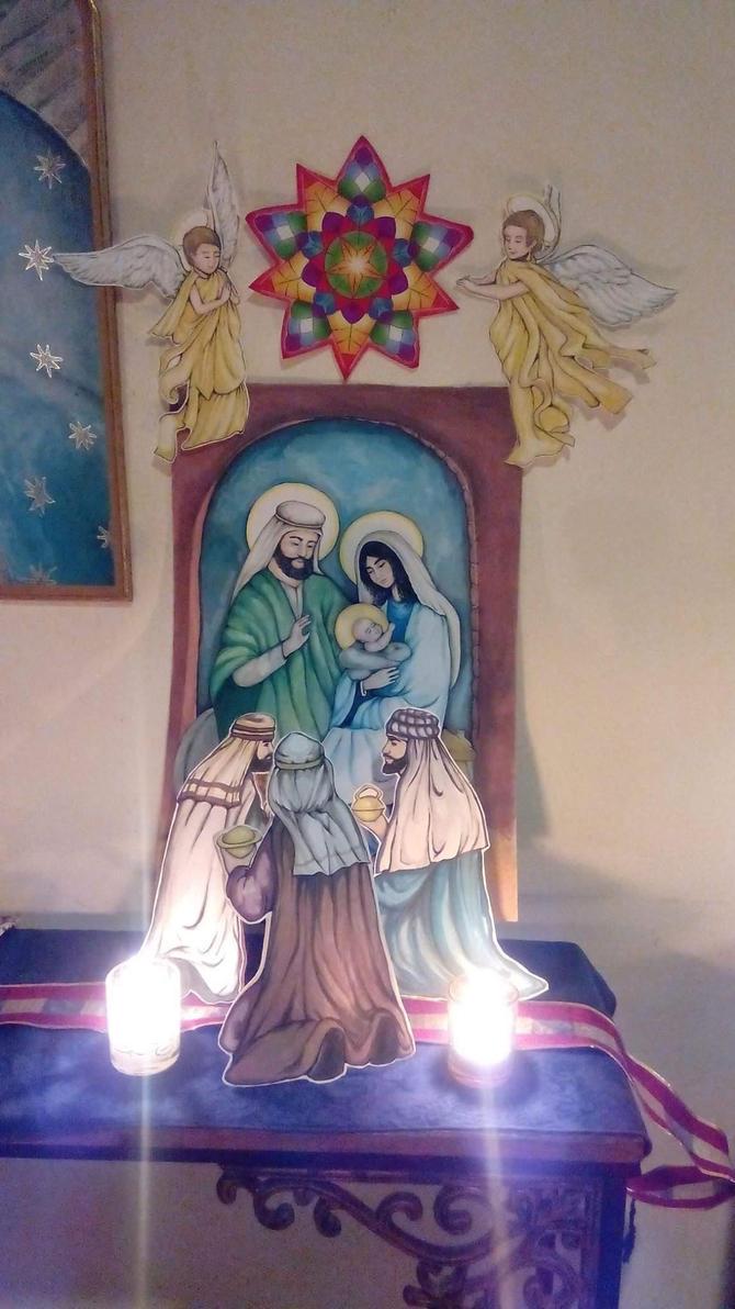 Nativity by jyacini