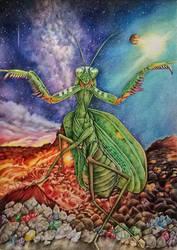 mantis by jyacini