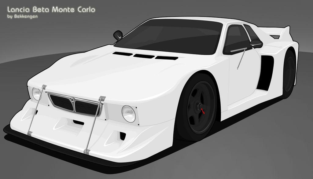 Lancia Beta Monte Carlo By Bekkengen On Deviantart