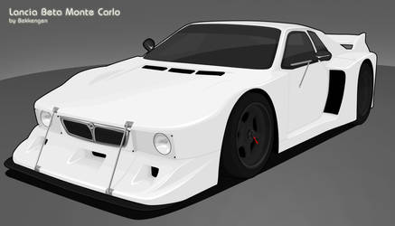 Lancia Beta Monte Carlo by Bekkengen