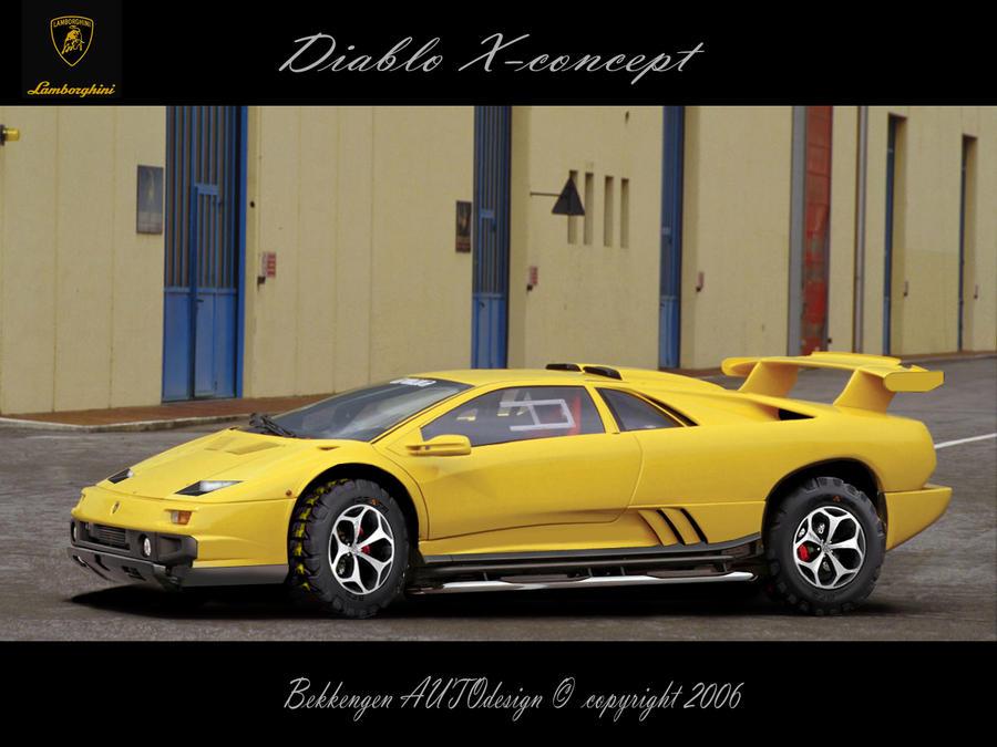 Lamborghini Diablo X Concept By Bekkengen On Deviantart