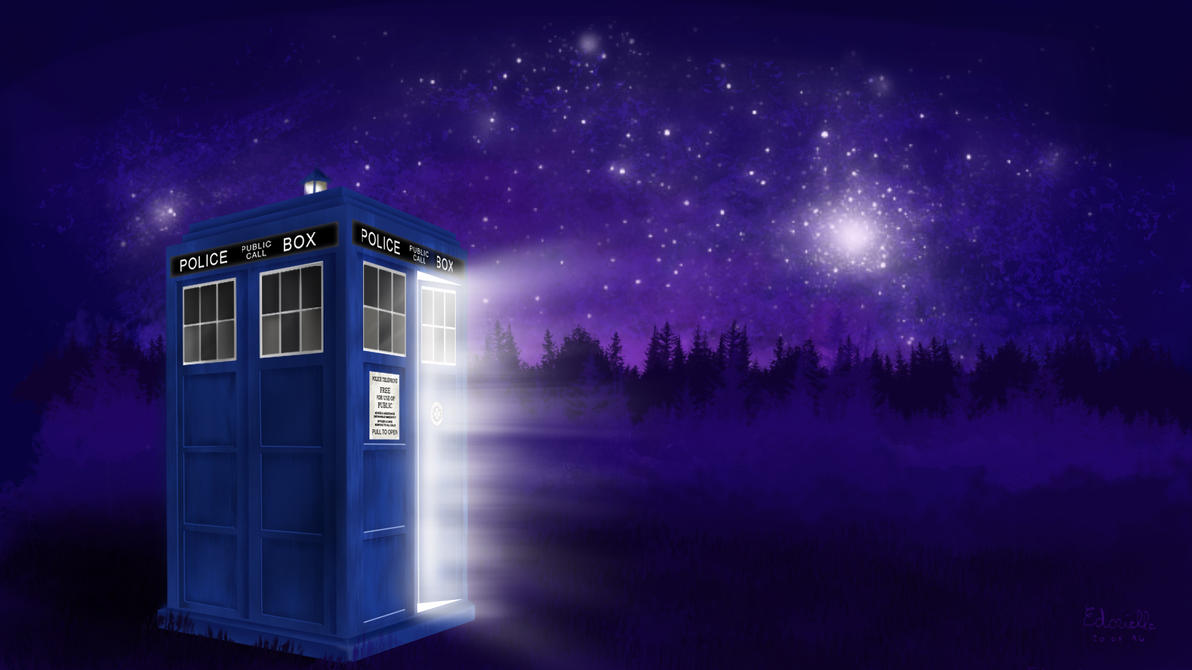 Doctor Who Tardis by Angel-of-Shadows30