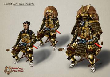 Samurai Armor Concept by Artigas