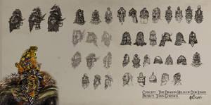 Dwarven Helmets and Masks