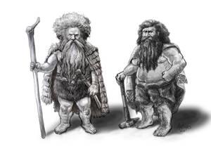 Primitive Dwarfs by Artigas