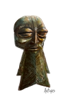 Ancient Dwarven Bronze Mask