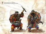 Dwarf Tunnel Fighters