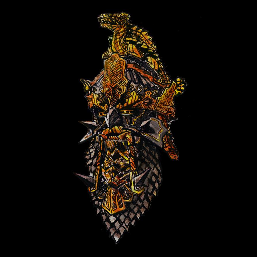 The Dragon Helm of Dor Lomin by Artigas