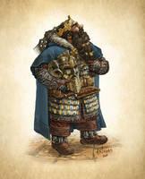 Dwarf King by Artigas
