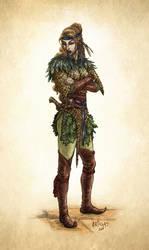 Elf Ranger by Artigas