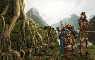 Ancient Elven Port by Artigas