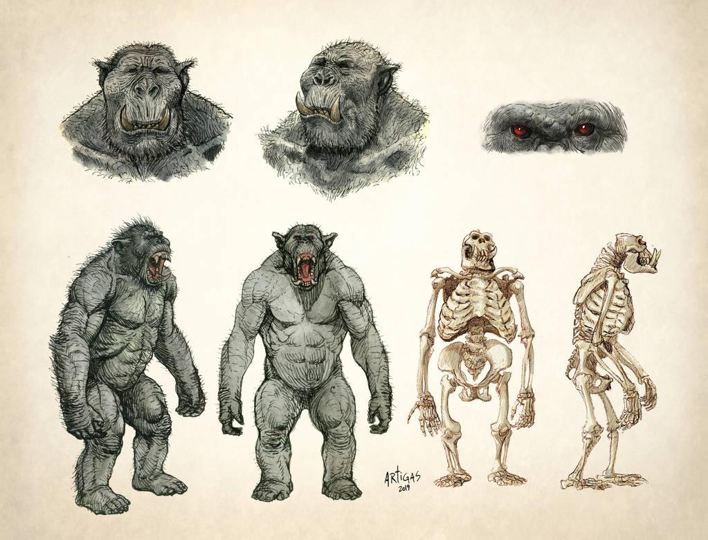 Orc Anatomy details by Artigas
