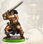Cimmerian Barbarian