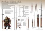 Dwarven Folding Spear
