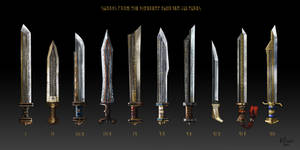 Swords of the various Dwarven cultures