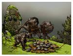 Orc rock lobbers